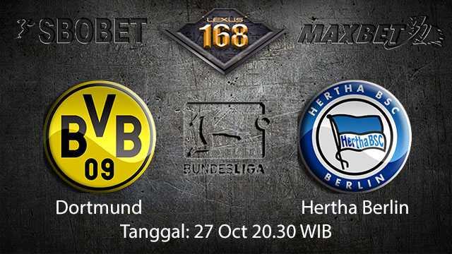 Prediksi Bola Jitu Dortmund vs Hertha Berlin 27 Oktober 2018 ( German Bundesliga )