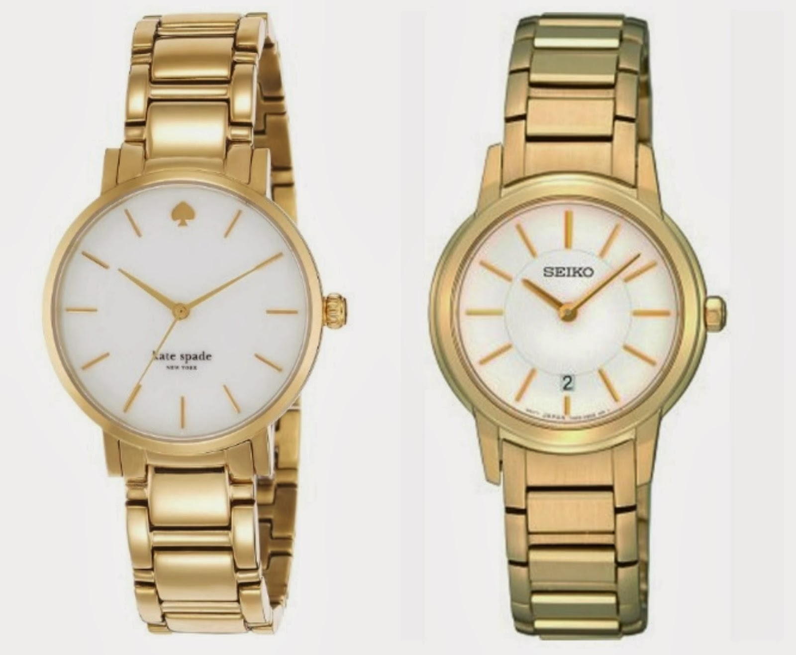 Kate Spade and Seiko Ladies Watches from The Watch Hut