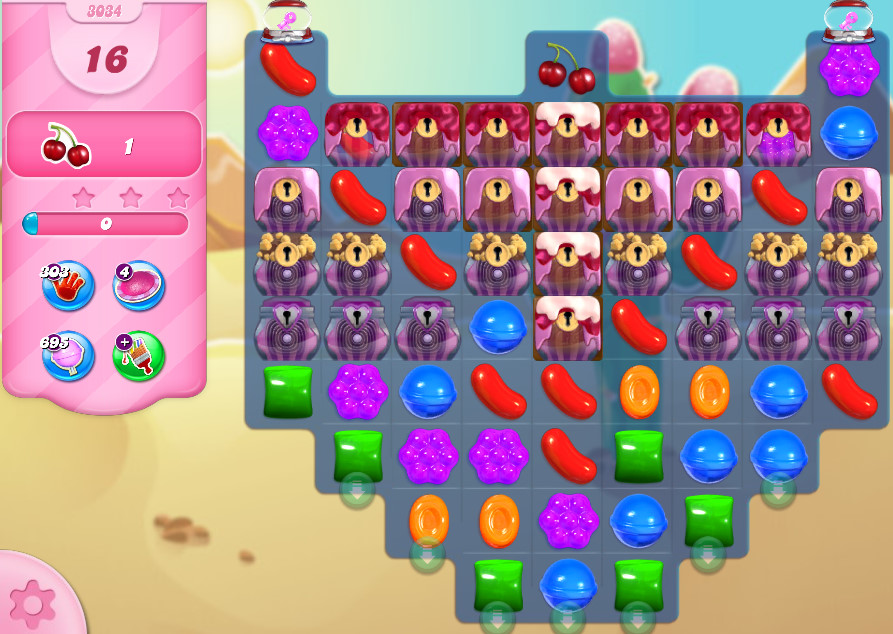 Candy Crush Saga level 3034
