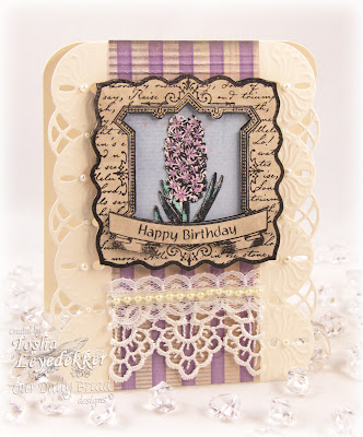 Vintage, Hyacinth, Our Daily Bread Designs, Birthday