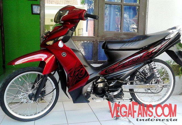 Vega ZR Modif Simple Elegan Merah