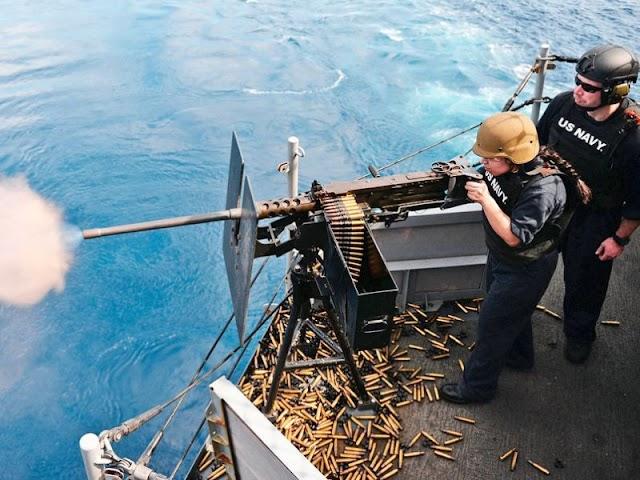 US Says Navy Ship Fired warning Shots At Iranian Vessels