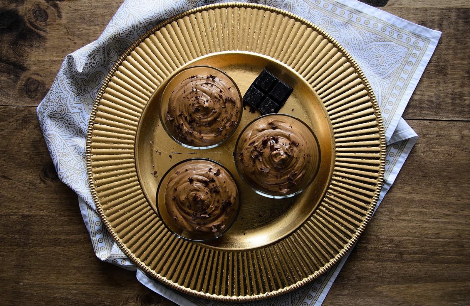 Mousse de chocolate   Segundas-feiras Doces na RFM