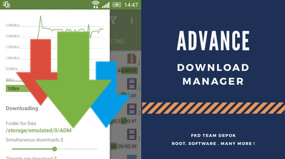 ADM Pro Apk - Manager Download Android - Fkd Team Depok