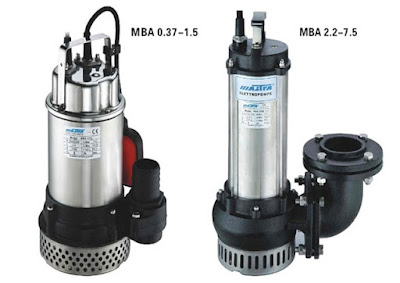 Giá bán các loại máy bơm chìm nước thải