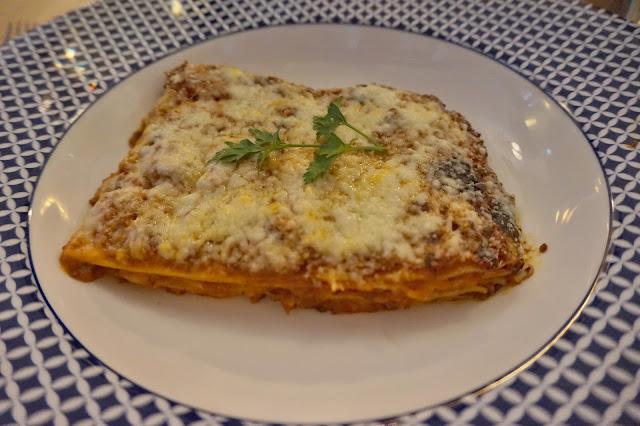 Carluccios York Lasagne