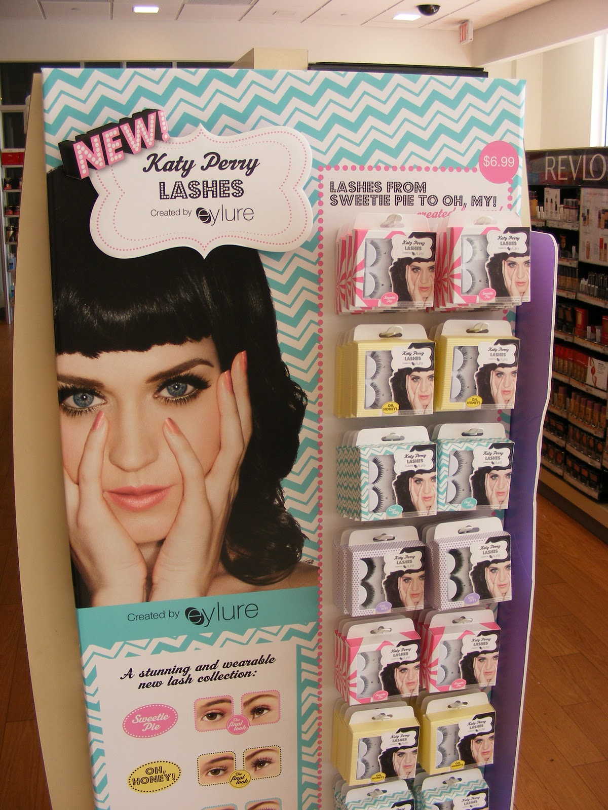 I did find a display of Katy Perry s false eyelashes at Ulta though… 7893b382afac