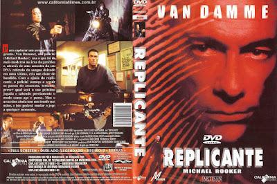 Filme Replicante (Replicant) DVD Capa