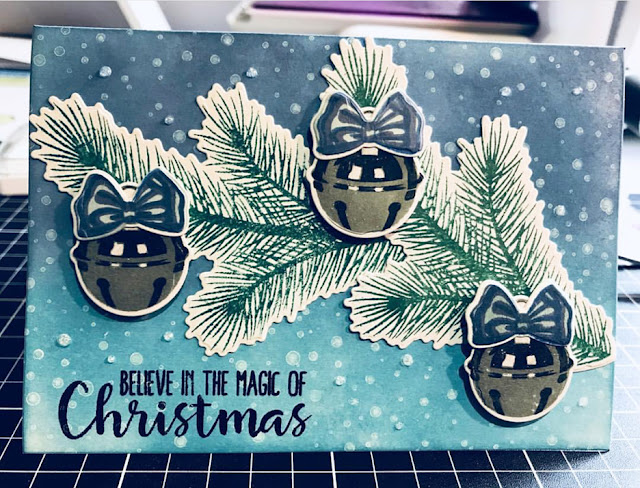 Sunny Studio Stamps: Holiday Style Customer Card Share by Ruth Teague