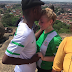 """We all have blood running in our veins, and it's all red""- Nigerian man who proposed to white girlfriend on top Olumo Rock"