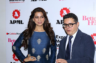Bollywood Actress Juhi Chawla Launchs Better Homes 10th Anniversary Celetion Cover  0027.JPG