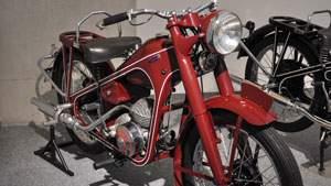 Sepeda motor Honda pertama bermesin Dream D tahun 1949 - 1951