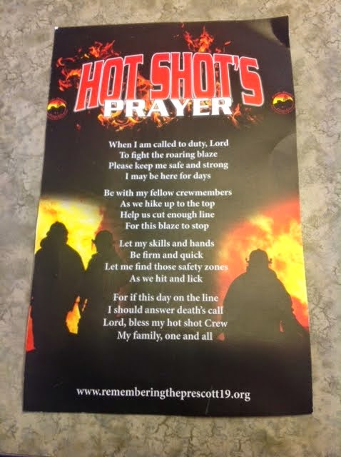Go Bee Happy: Hot Shots Prayer