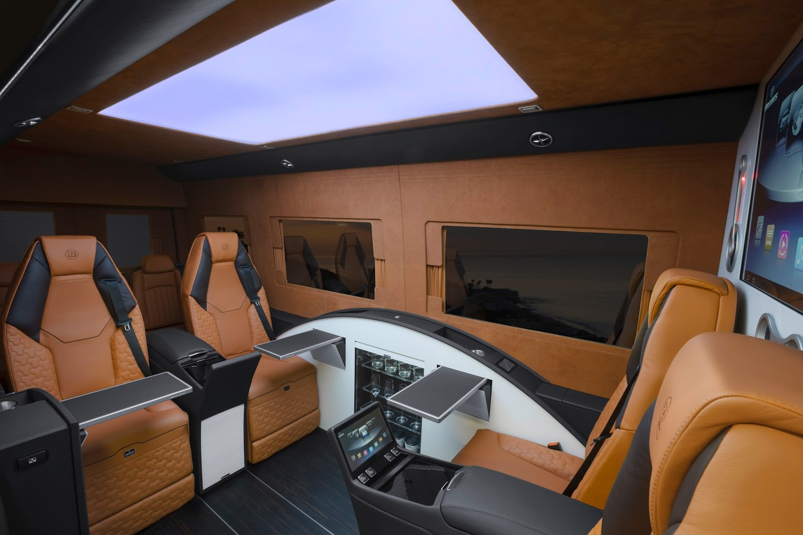 Limousines Mercedes Benz X Sprinter Brabus Business Lounge