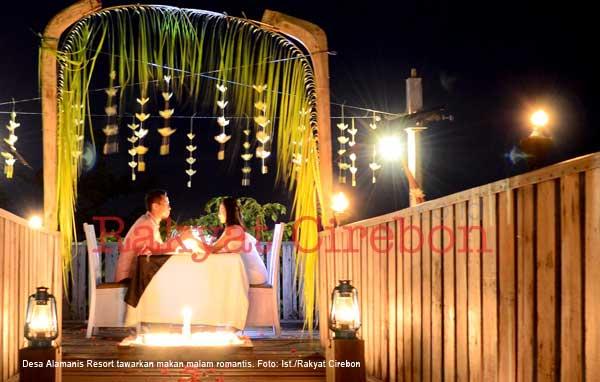 desa alamanis resort cirebon tawarkan paket valentine day