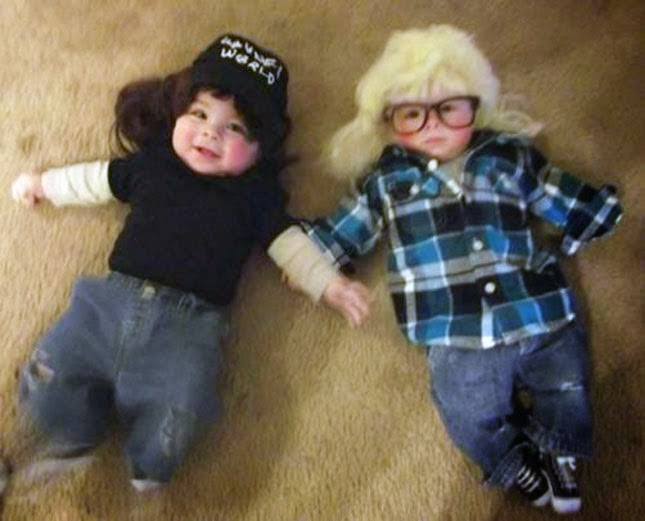Waynes World Babies Costumes