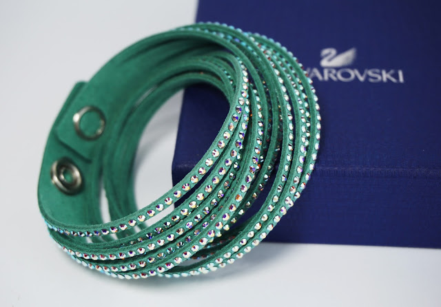 Swarovski Sale Haul Slake Light Green Armband