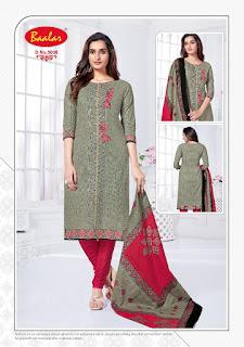 Baalar Zaara vol 4 Cotton dress material