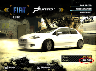 Cheat Money NFS Most Wanted