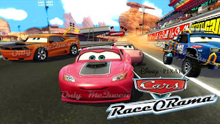 DOWNLOAD Cars Race-O-Rama PSP game ISO for Android - www.pollogames.com