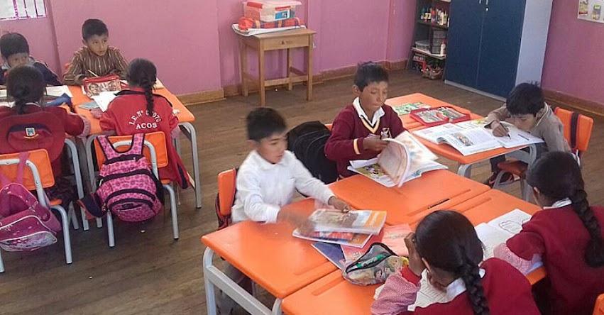 PRONIED: Niños de Acomayo en Cusco disfrutan de nuevo mobiliario entregado por Pronied - www.pronied.gob.pe