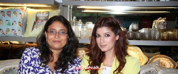 Sanvari Alagh, Twinkle Khanna, Twinkle Khanna at Sanvari & Anjori Alagh's Pop Up Store Launch
