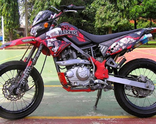 modifikasi klx 150 buat adventure