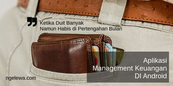 Aplikasi Management Keuangan di Android