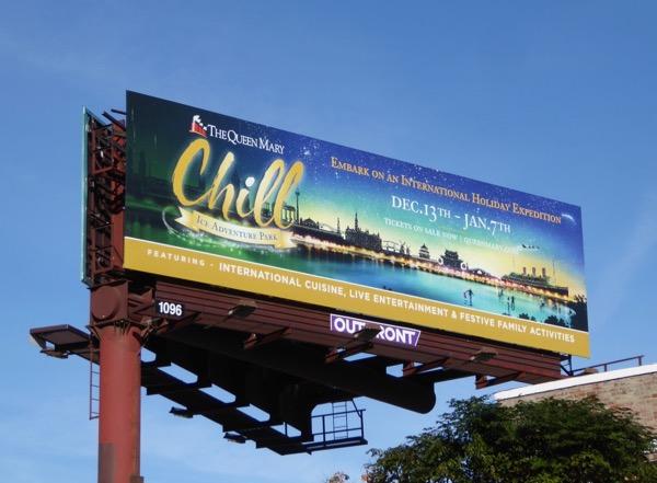 Queen Mary Chill 2017 billboard