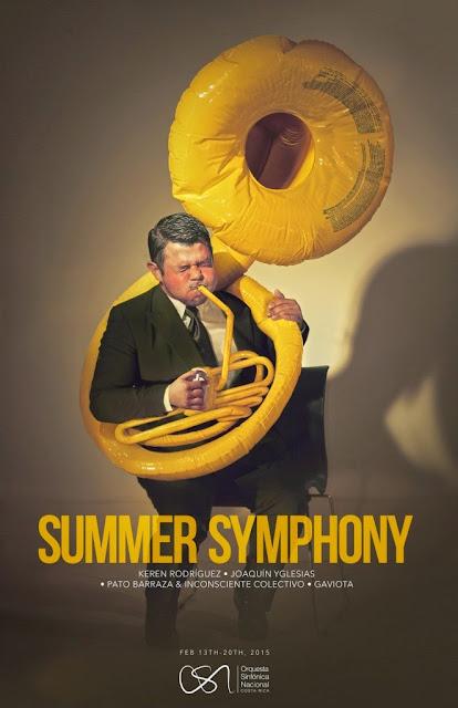 Anuncio con sentido del humor de la orquesta sinfónica nacional de Costa Rica