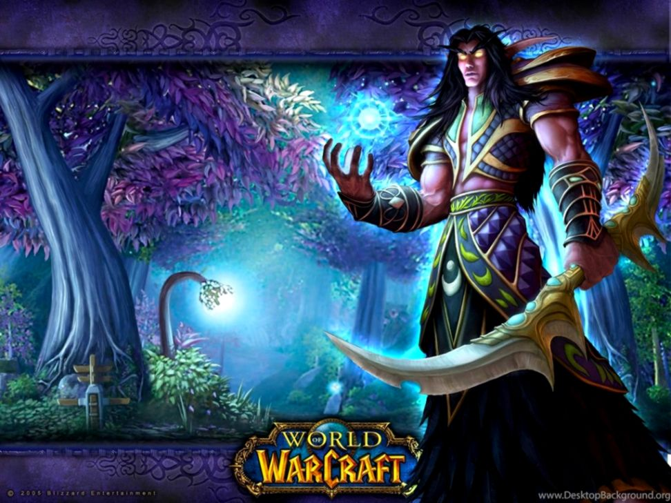 Warcraft Wallpaper Night Elf Wallpapers Themes