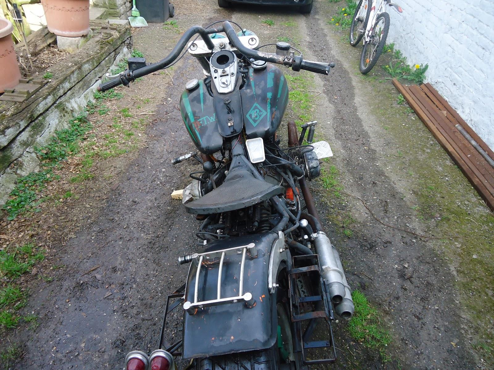 rat u0026 39 s bike autour d u0026 39 un moteur de citro u00ean 2cv