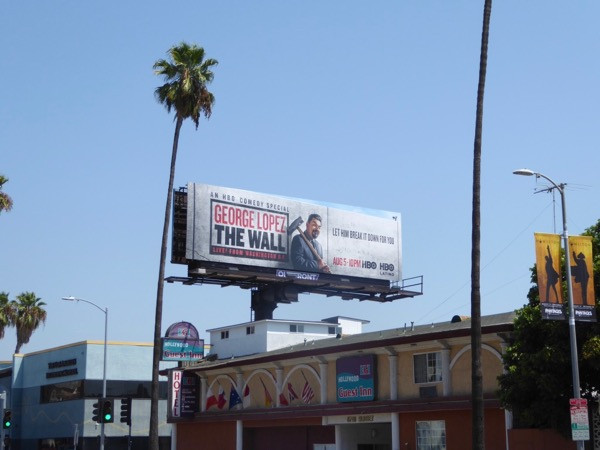 George Lopez Wall HBO billboard