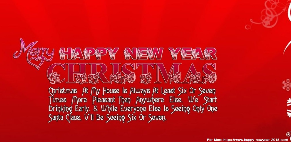 Superb Merry Christmas And Happy New Year 2018 Quotes Nice Ideas