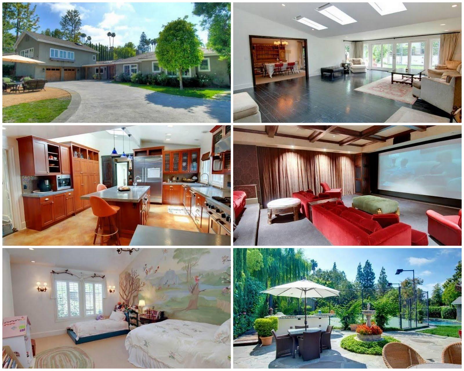 Celebrity Real Estate: Heidi Saban Stills Lists Encino ...