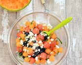 Melon Ball & Blueberry Salad