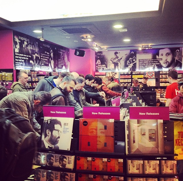 HMV Grafton Street - Record Store Day 2014