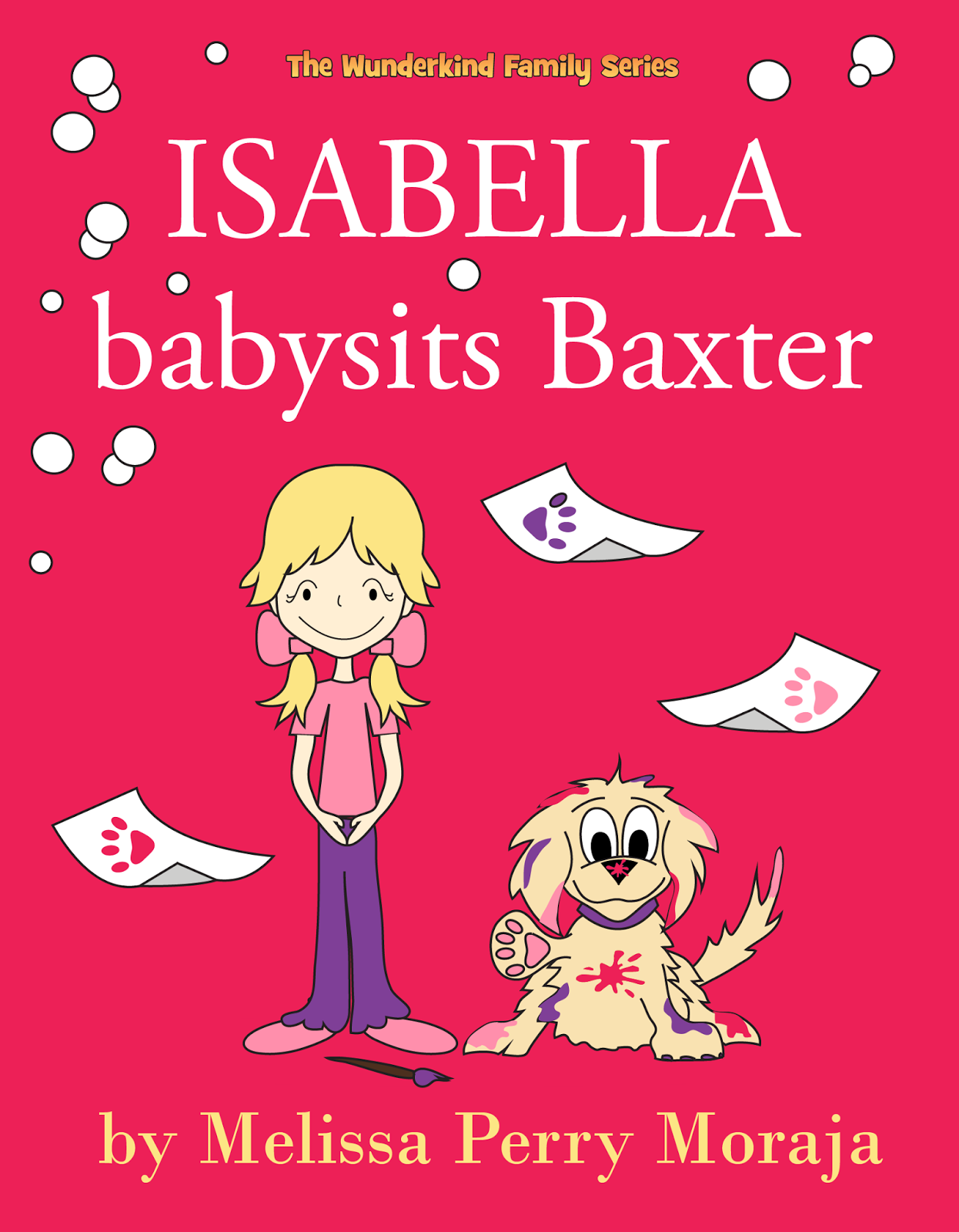 Isabella Babysits Baxter Children's Picture Book