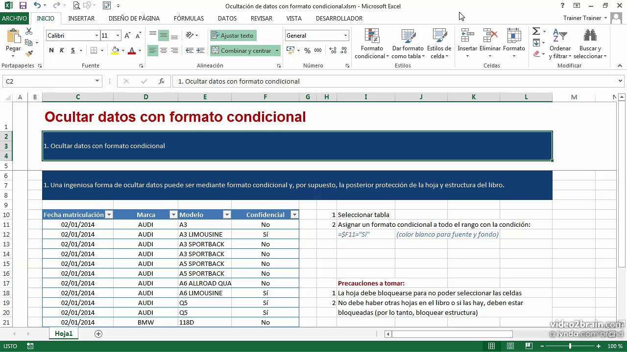 Video2brain Cursos Sobre Excel 2010 2014 on Descargar Curso Excel 2010 Gratis Espanol