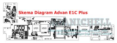 Skema Diagram Advan E1C Plus