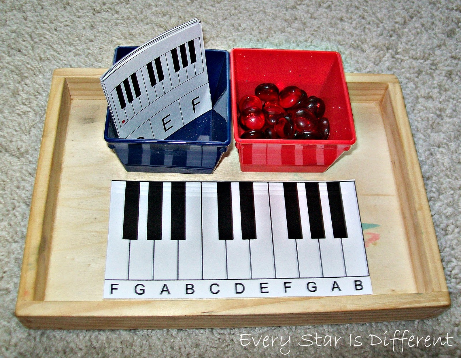 Keyboard Identification Practice Activity for Kids (Free Printable)