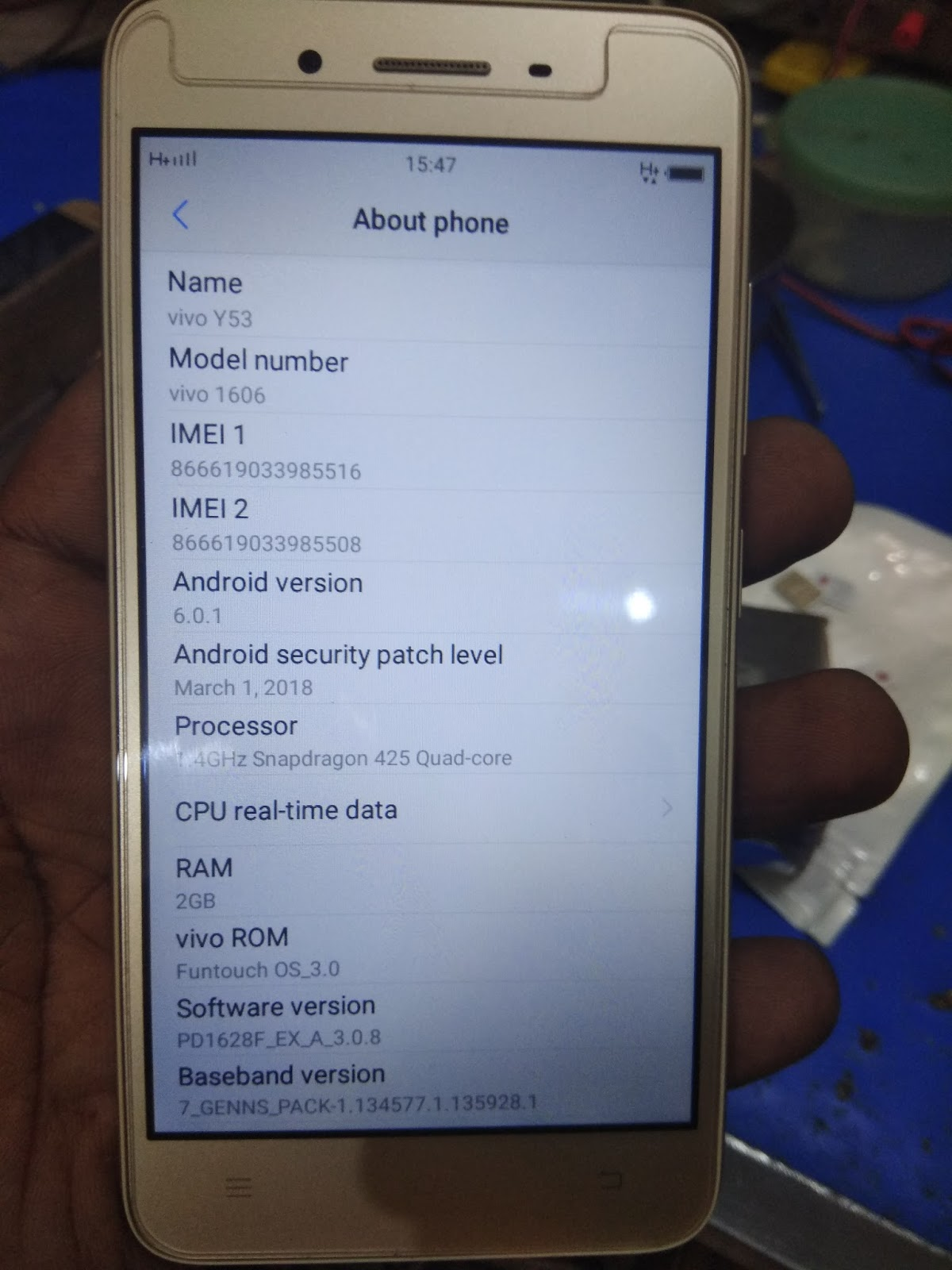 VIVO 1606 FIRMWARE FLASH FILE QUALCOMM 100% TESTED | ABC