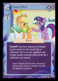 My Little Pony Team Effort Premiere CCG Card