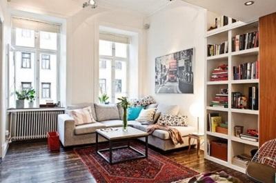 Desain Apartemen di Swedia, Kecil Tapi Lengkap