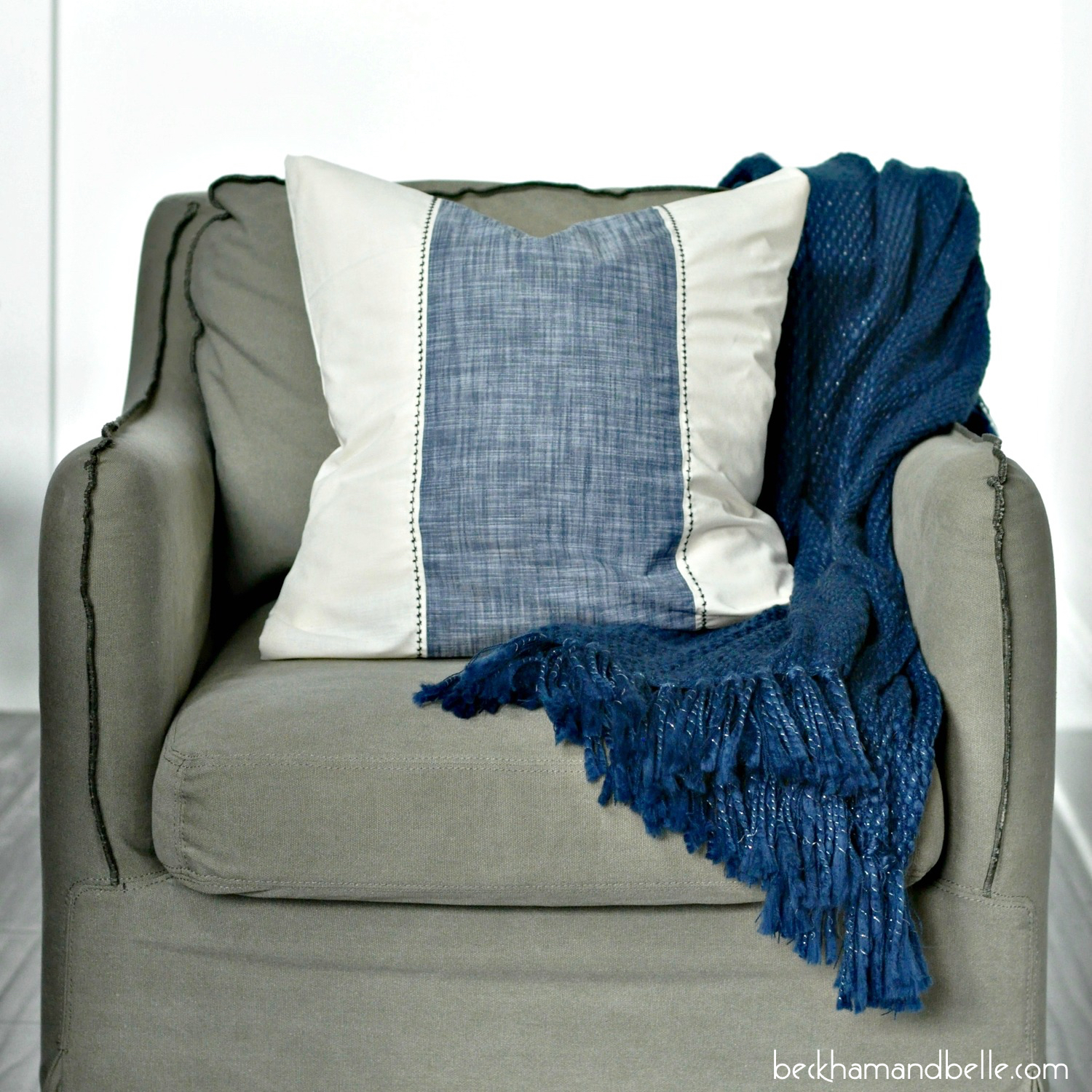 Throw Pillow Uses : Serena & Lily Inspired Throw Pillow - Beckham + Belle