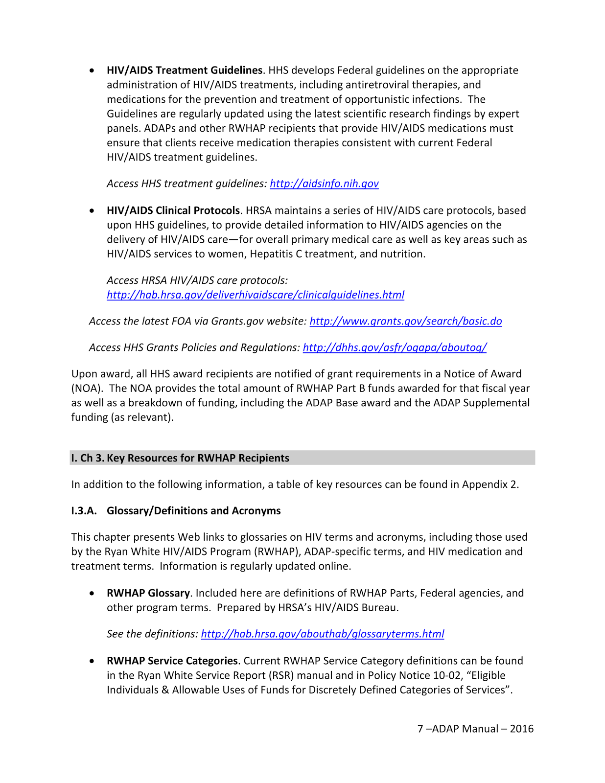 HIVAIDS treatment and research information from the US federal government