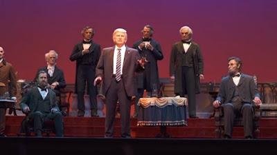 Έφτιαξαν ρομπότ του Τραμπ και είναι τρομακτικό!