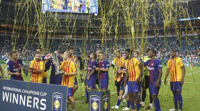 Barcelona juara International Champions Cup 2017