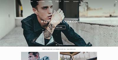tutorial desain web keren P & Co