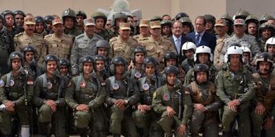 الرئيس السيسي في سيناء